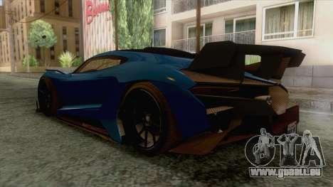GTA 5 - Overflod Tyrant pour GTA San Andreas vue de droite