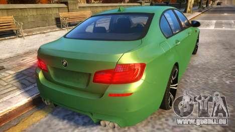 BMW M5-series F10 Azerbaijan style für GTA 4 rechte Ansicht