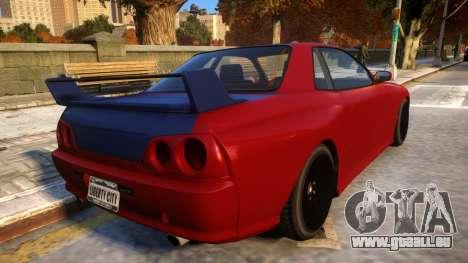 Annis Elegy Retro V1.1 für GTA 4 rechte Ansicht