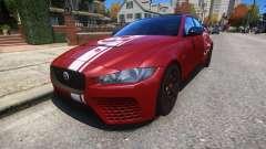Jaguar XE SV Project 8 2017 v1.0 pour GTA 4