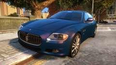 Maserati Quattroporte Sport GTS 2011 Baku Style pour GTA 4