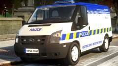 British Manchester Police Ford Transit pour GTA 4