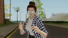 Mai Shiranui Korean Style v3 für GTA San Andreas