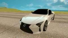 Lexus LC 500 pour GTA San Andreas