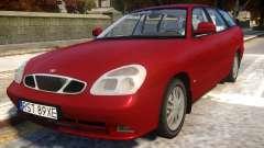 Daewoo Nubira II Wagon CDX Delux 2001 pour GTA 4