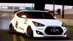 Hyundai Veloster Turbo Capruk Works Kit für GTA San Andreas