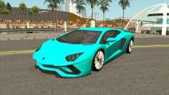 Lamborghini Aventador S LP740-4 2018 pour GTA San Andreas