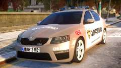 Skoda Octavia RS GEO POLICE pour GTA 4