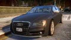 2013 Audi S8 4.0TFSI Quattro für GTA 4