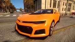 2017 Chevrolet Camaro ZL1 pour GTA 4