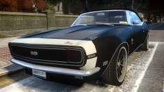Chevrolet Camaro Mk.I 1968 Wheel EPM v1.0 pour GTA 4