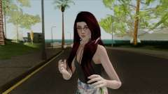 Samantha Casual v3 Sims 4 Custom pour GTA San Andreas