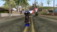 The Doomsday Heist - Pistol v2 pour GTA San Andreas