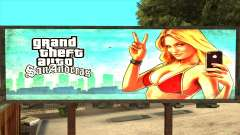 GTA 5 Girl Poster Billboard