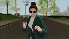 Mai Shiranui Korean Style v4 für GTA San Andreas