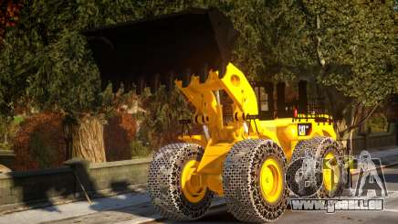 CAT 994F Worlds Big Chains Wheel Loader 3.0 pour GTA 4