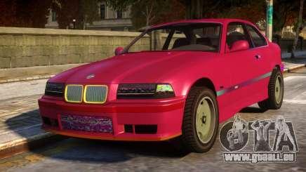 BMW E36 M3 pour GTA 4