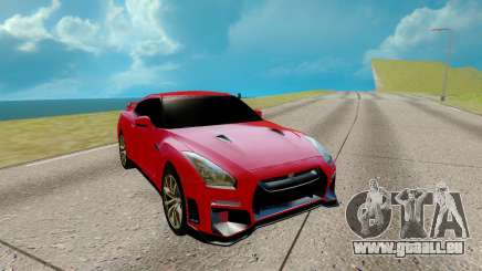 Nissan GTR Nismo rouge pour GTA San Andreas