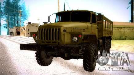 Ural 4320 Oliva für GTA San Andreas