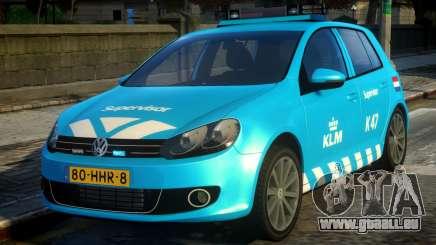 Volkswagen Golf Supervisor KLM für GTA 4