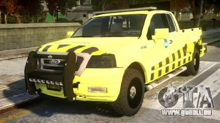 Ford F-150 Rijkswaterstaat pour GTA 4
