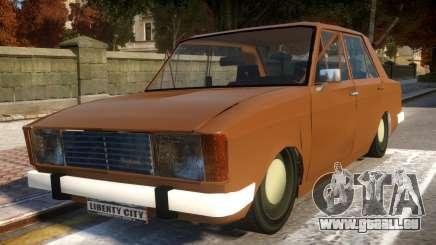 Peykan 1600 für GTA 4