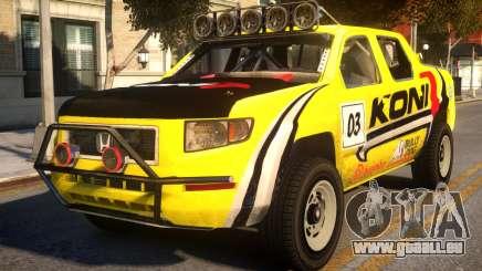 Honda Ridgeline Koni pour GTA 4