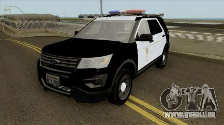 Ford Police Interceptor Utility LSPD 2016 pour GTA San Andreas