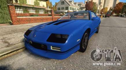 Chevrolet Camaro IROC-Z 1990 pour GTA 4