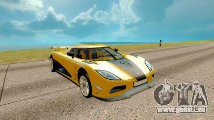Koenigsegg Regera für GTA San Andreas