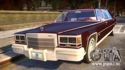 Cadillac Fleetwood Limousine 1985 pour GTA 4