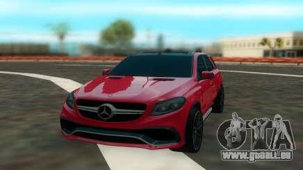 Mercedes Benz GLE 63 für GTA San Andreas
