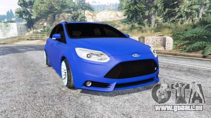 Ford Focus ST (C346) 2013 v1.1 [replace] pour GTA 5