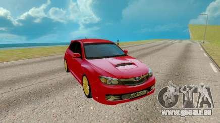 Subaru WRX STI für GTA San Andreas