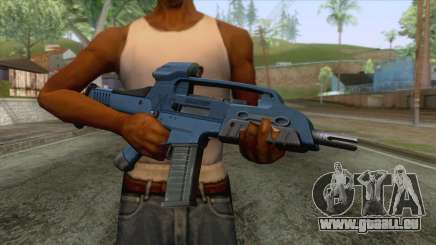 XM8 Compact Rifle Blue für GTA San Andreas