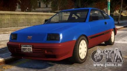 Vintage Blista für GTA 4