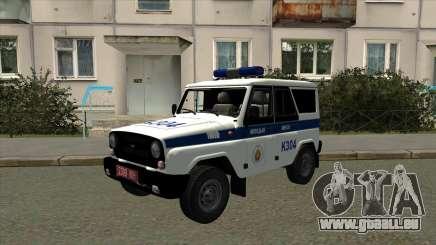 UAZ de la Police de Minsk pour GTA San Andreas