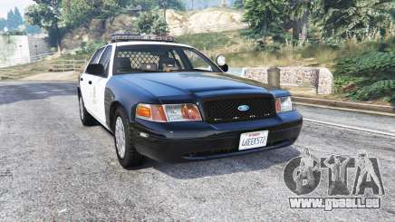 Ford Crown Victoria LAPD CVPI v3.0 [replace] pour GTA 5