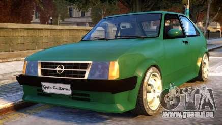 Opel Kadett D GTE pour GTA 4