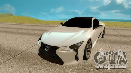 Lexus LC 500 für GTA San Andreas