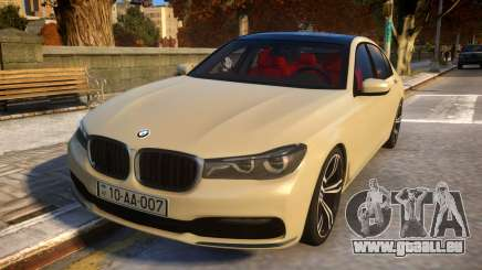 2016 BMW 7-series G12 Long für GTA 4