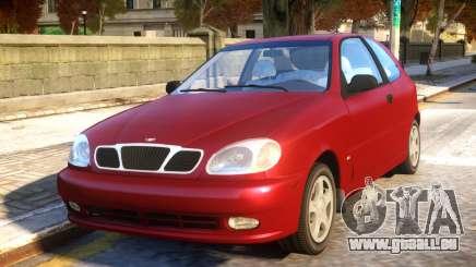Daewoo Lanos 3-door SX US 1999 pour GTA 4