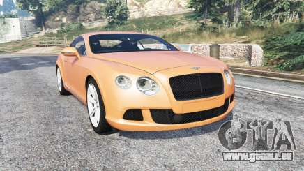 Bentley Continental GT 2012 v1.2 [replace] pour GTA 5