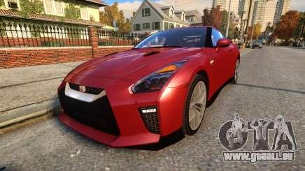 Nissan GTR 17 Premium pour GTA 4