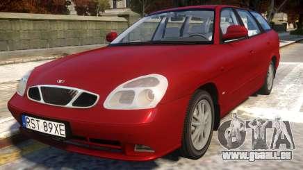 Daewoo Nubira II Wagon CDX Delux 2001 für GTA 4