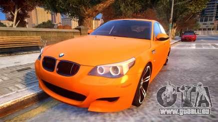 BMW M5 E60 Davidic Memory update 1.2 pour GTA 4