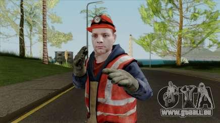La nouvelle peau de travail pour GTA San Andreas