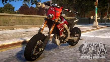 Kawasaki KX 450 F pour GTA 4