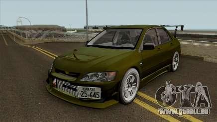 Kobayakawa Mitsubishi Evolution VII pour GTA San Andreas