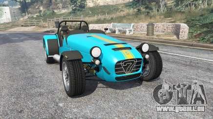 Caterham Seven 620 R 2013 v1.6 [replace] pour GTA 5
